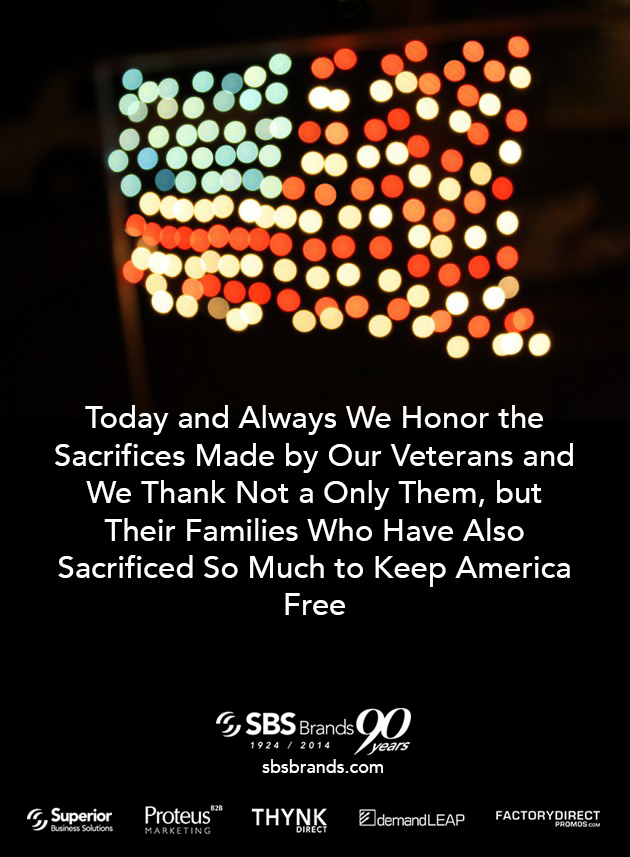 We Honor the Sacrifices Made By Our Veterans