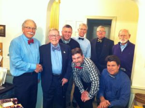 Superior Family Wearing Bow Ties In Charlies Honor