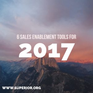 6 Sales Enablement Tools for Your Business to Use in 2017