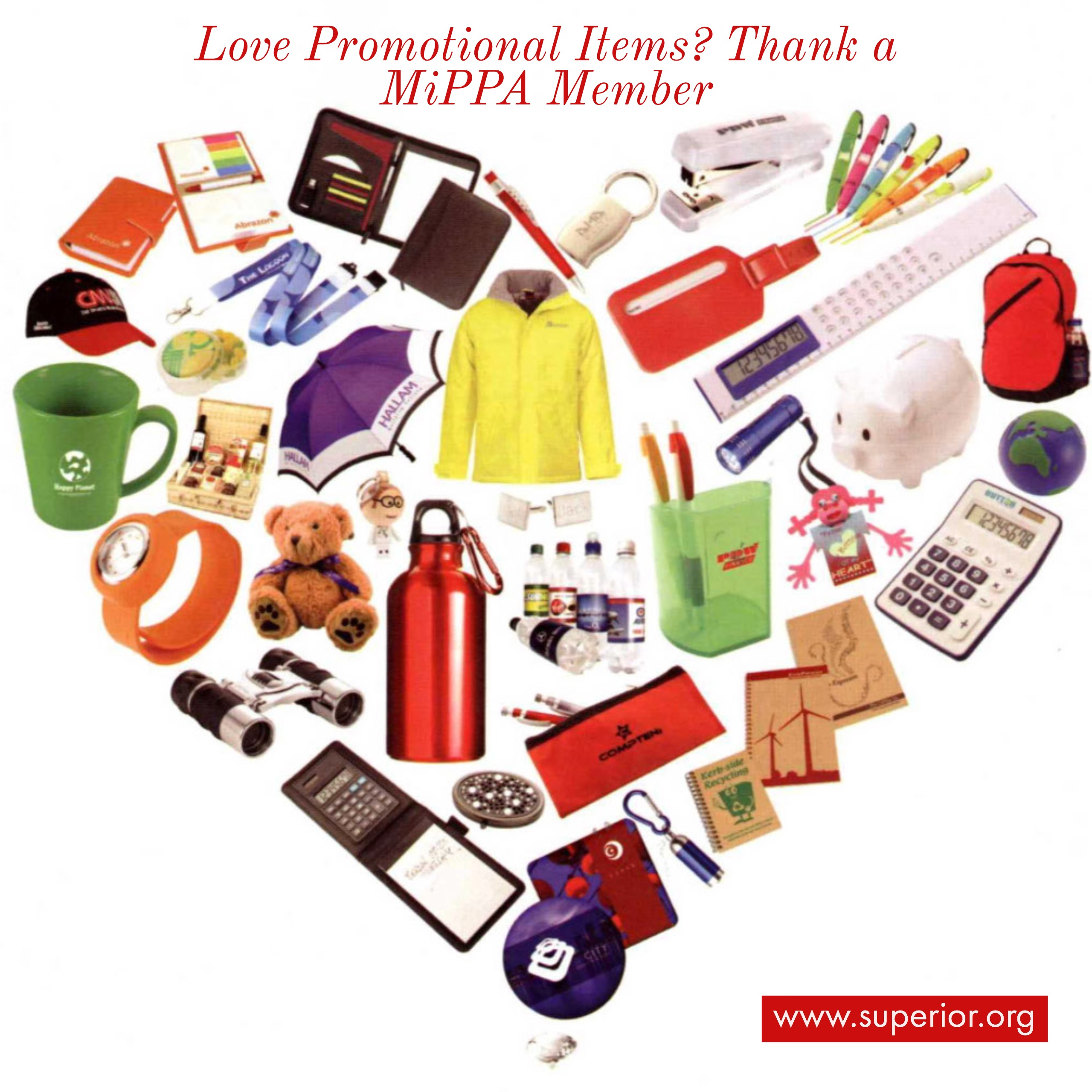 Love Promotional Items? Thank a MiPPA Member
