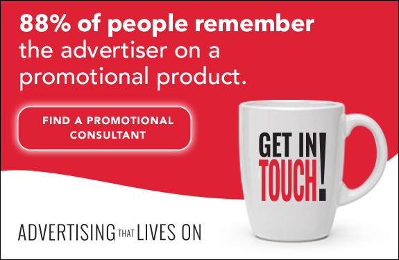 Find an award winning promotional products consultant