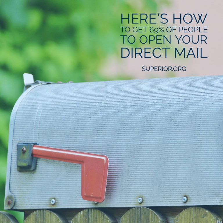 Here's How to Get a Higher Open Rate for Your Direct Mail Marketing Campaign