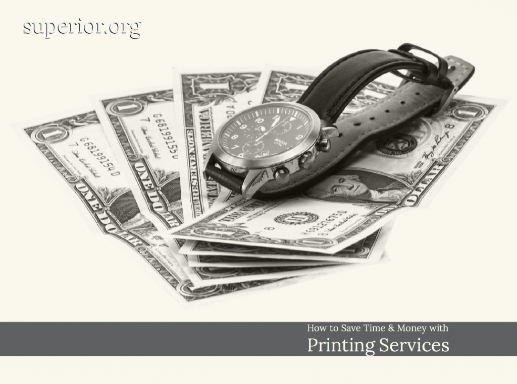 How to Save Time and Money with Printing Services