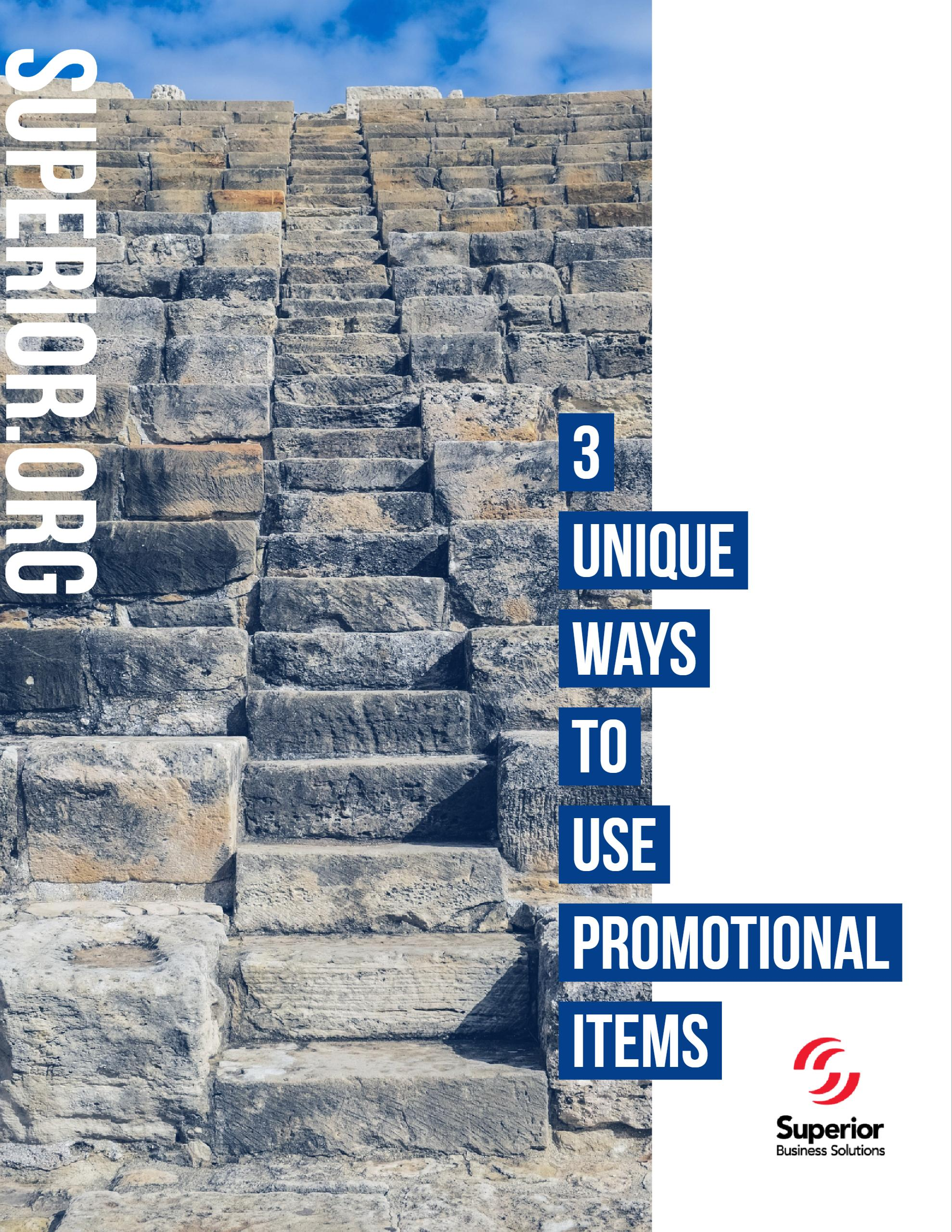 3 Unique Ways to Use Promotional Items