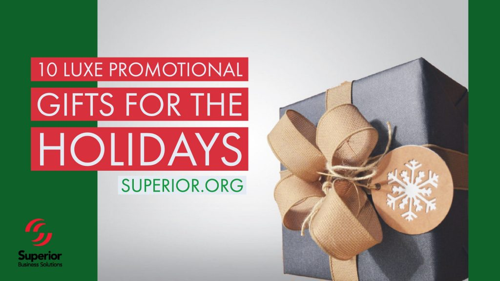 10 Luxe Promotional Gifts for the Holidays
