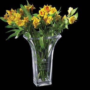 Custom glass flower vase