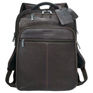 Custom Branded Kenneth Cole® Colombian Leather TSA Compu-Backpack