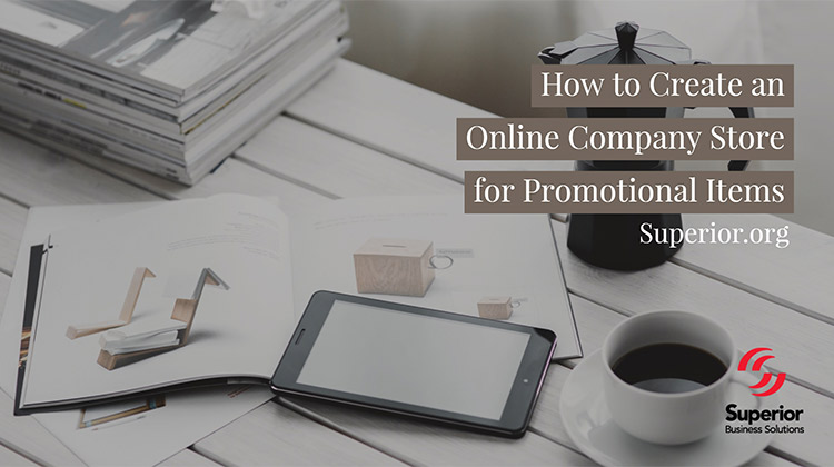 Create an Online Store for Promotional Items