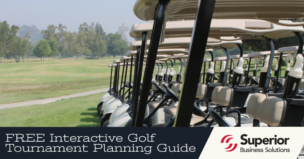 FREE Interactive Golf Tournament Planning Guide