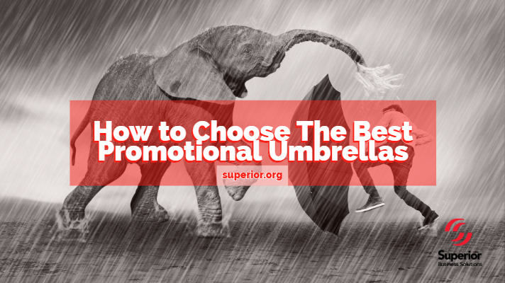 How to Choose the Best Promotional Marketing Umbrellas