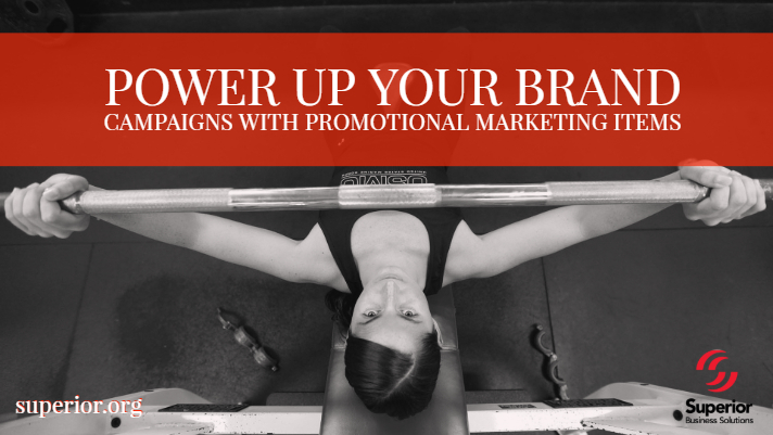 Power Up Your Brand Campaigns with Promotional Marketing Items