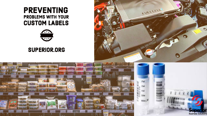 Preventing Problems with Your Custom Labels