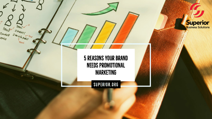 5 Reasons Your Brand Needs Promotional Marketing