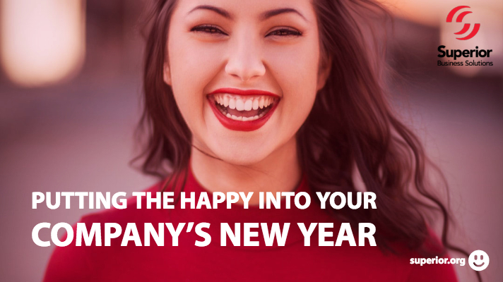 Putting the Happy into Your Company's New Year