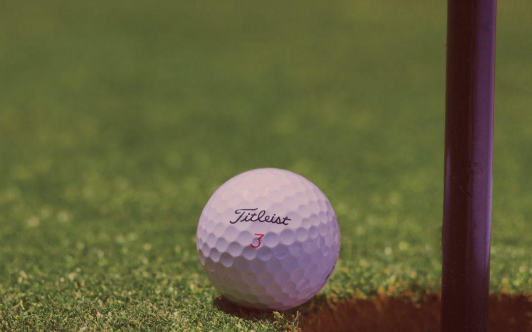 Custom Titleist golf ball for a Golf Tournament giveaways