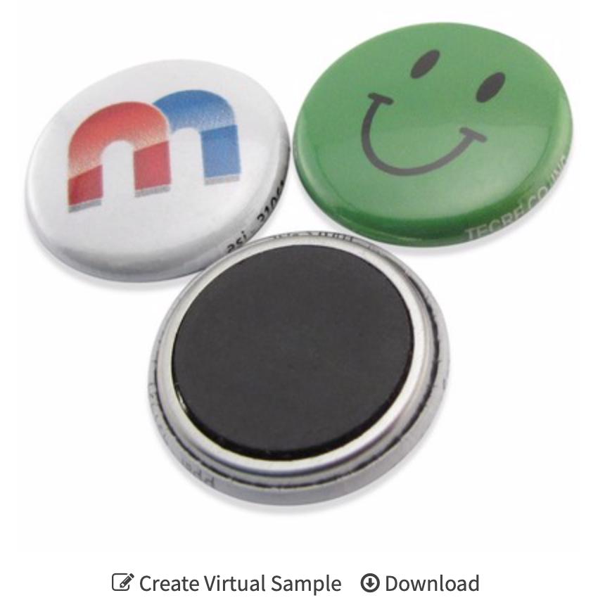 "custom 1"" Button Magnets"