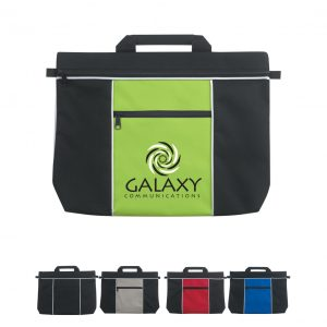 custom document bags for promotional marketing in financial industries