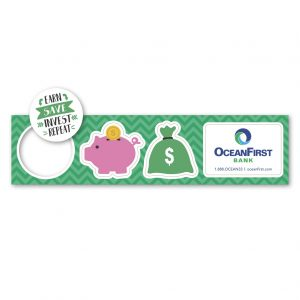 custom pop out magnets for promotional marketing in financial industries