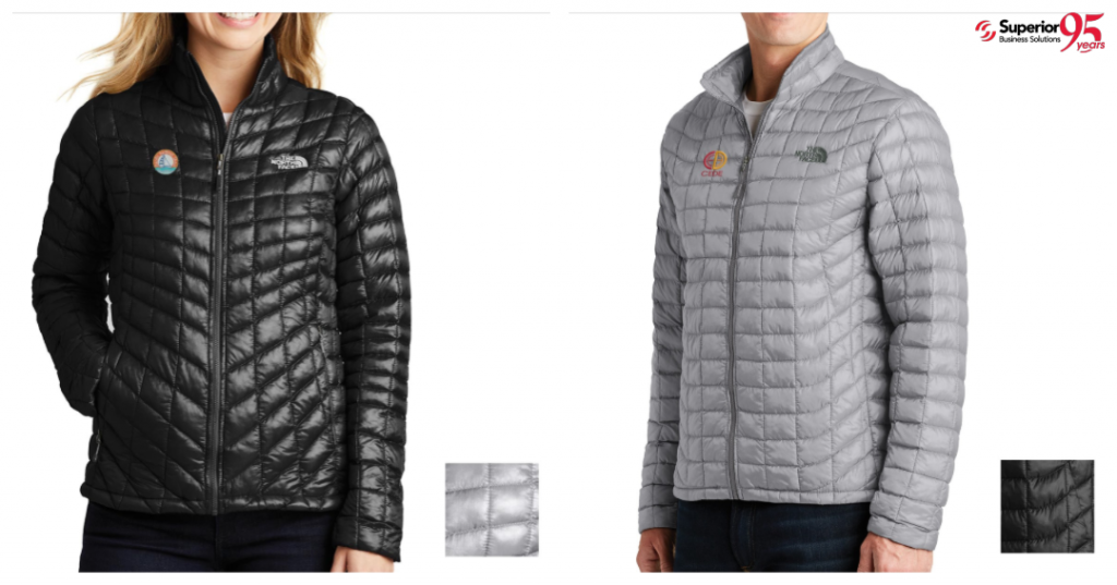 logod promotional apparel The North Face® ThermoBall™ Trekker Jacket men and women