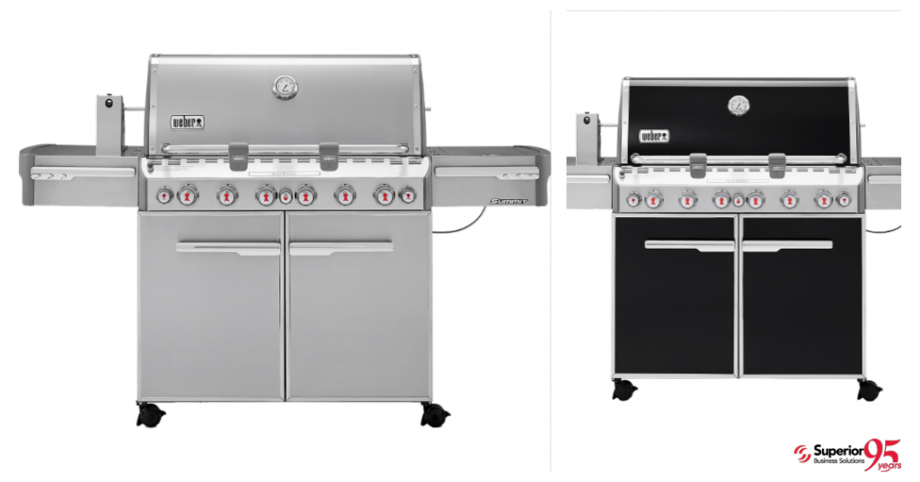 logod Weber Summit E-670 Gas Grill promotional gifts