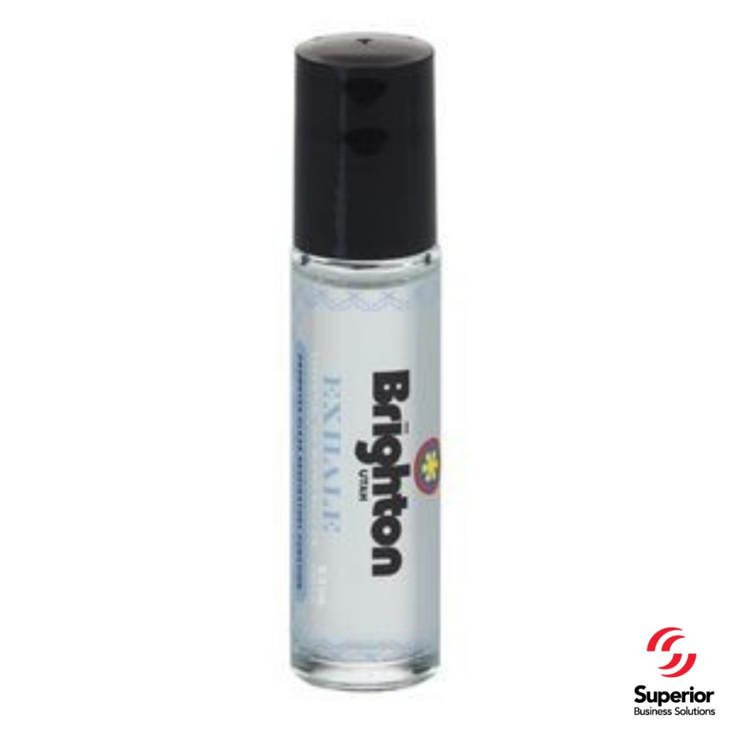 promotional marketing gifts 10 Ml. Essential Oil Clear Roller Bottle