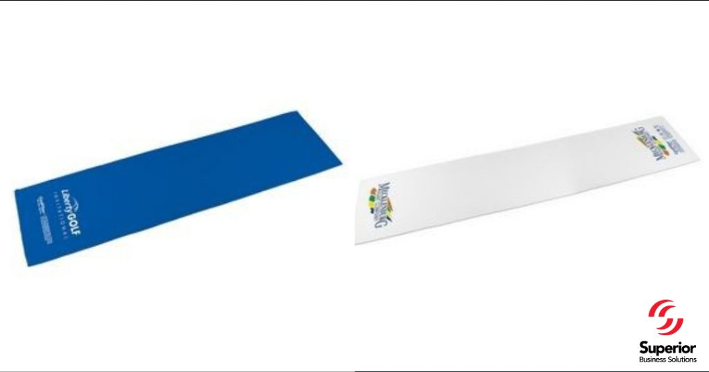 promotional marketing gifts Classic CoolFiber® Active Cooling Towel - 1 Color 1 Location
