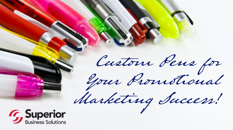 FREE Custom Pens for Your Promotional Marketing Success