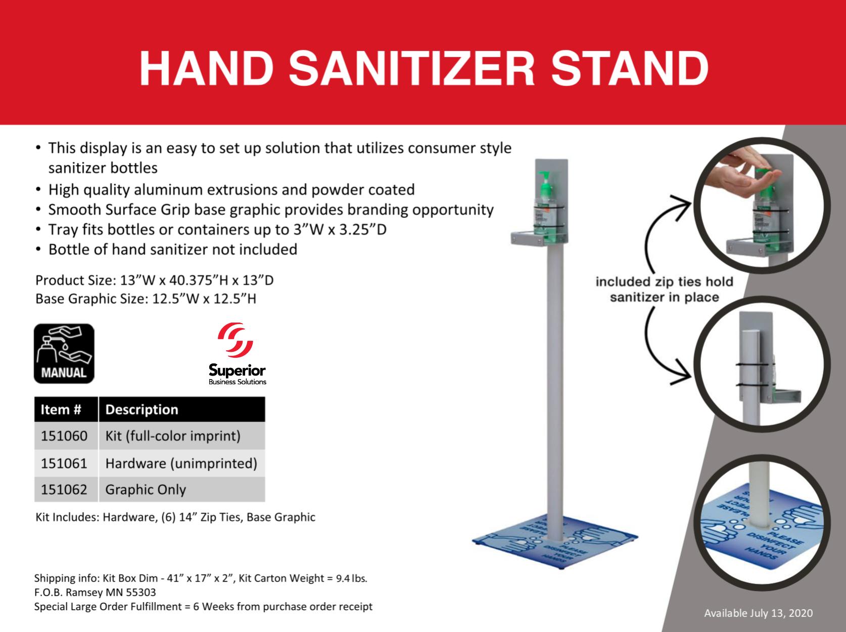 branded-hand-sanitizer-stand