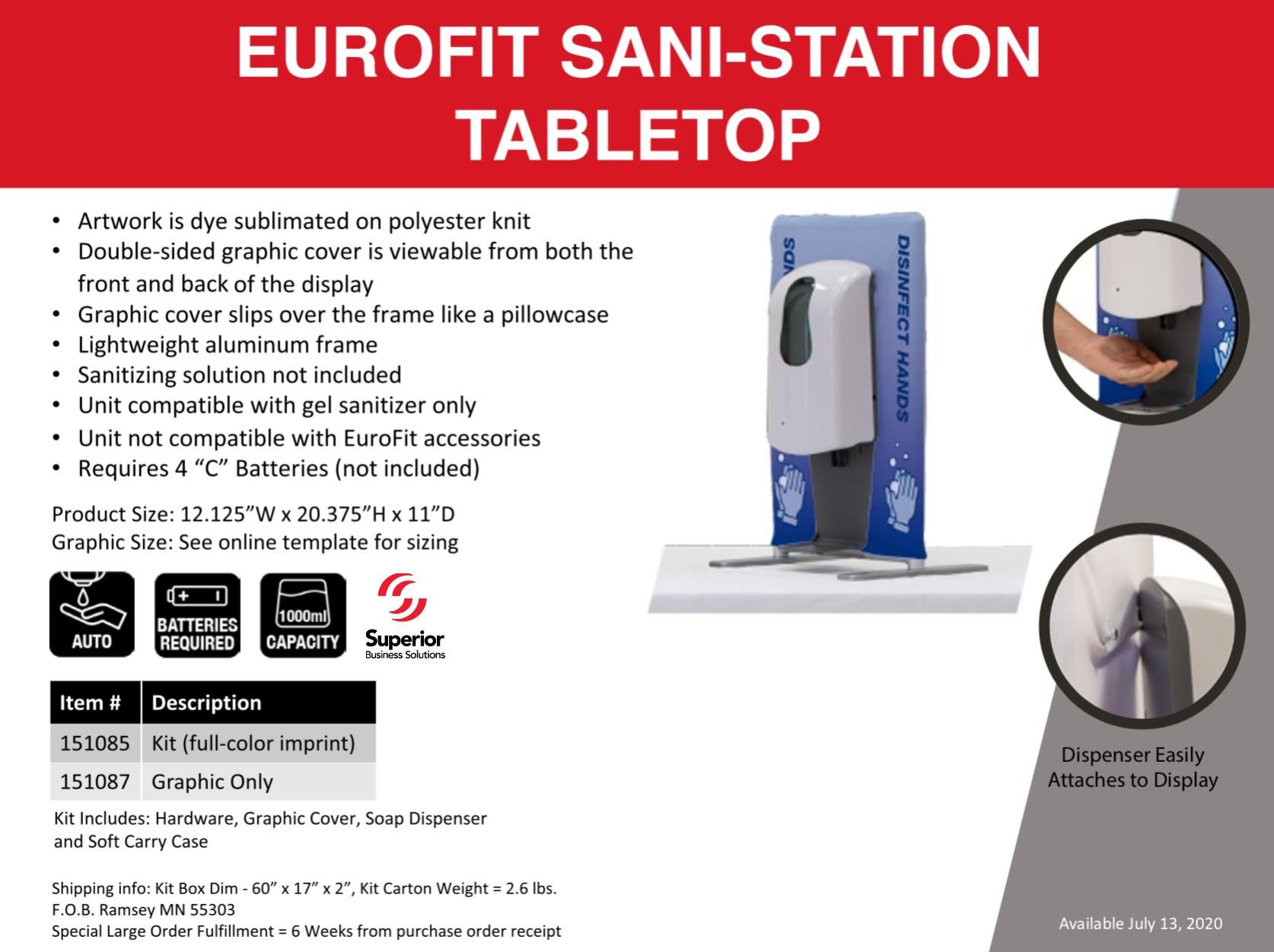 eurofit-sani-station-tabletop