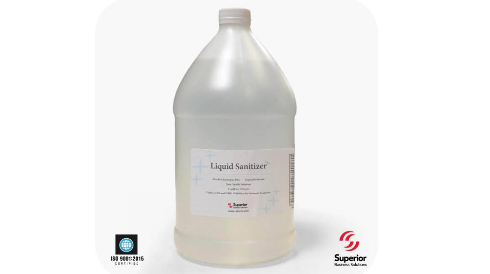 $19.99/Gallon Industrial Liquid Sanitizer Low-Pricing Offer!