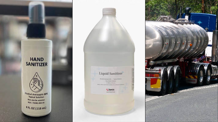 Low-priced Spray Sanitizer Protection by the Bottle, Tote or Truckload!