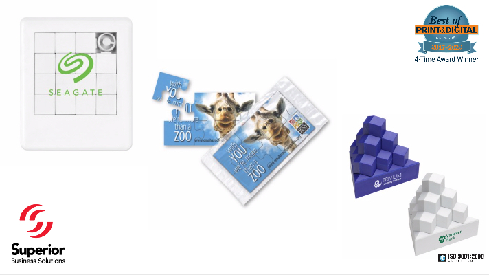 create customized promotional puzzles