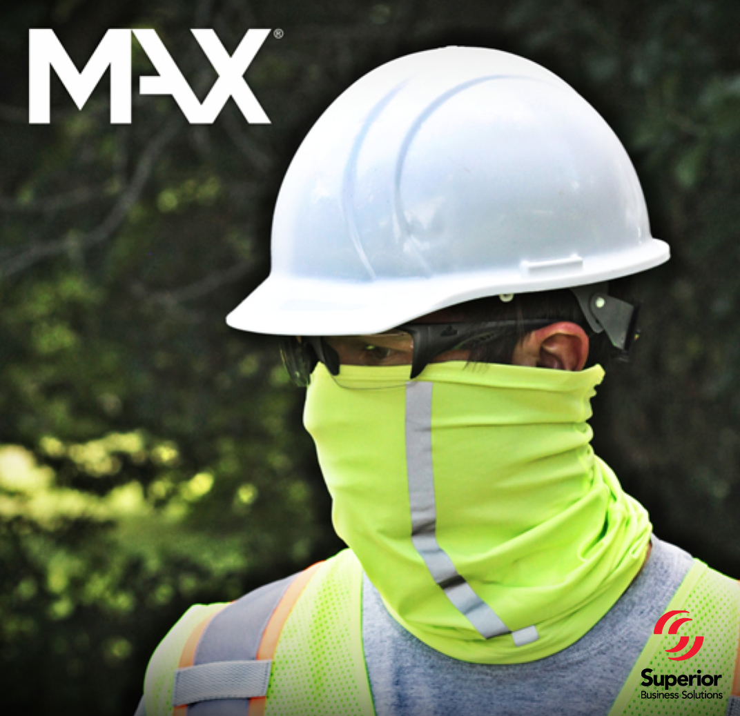 MAX143 Ice Cooling Gaiter with High-Visibility Protection