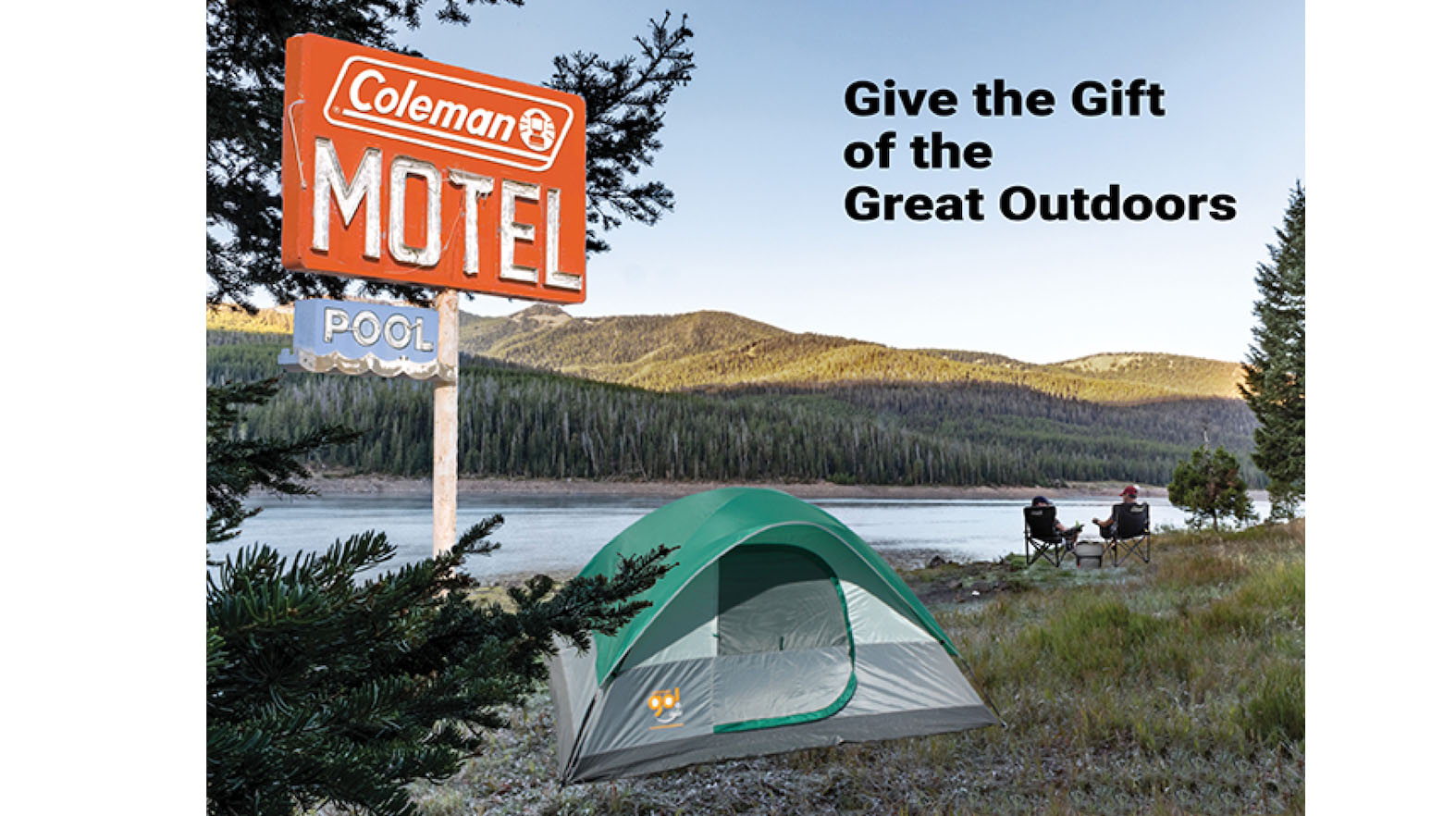 Give the Gift of the Great Outdoors with Coleman