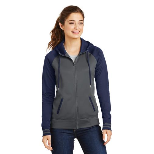 LST236 Sport-Tek Fleece Jacket Hoodie