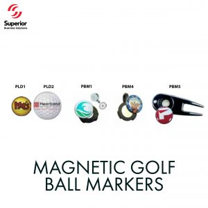 customized MAGNETIC GOLF BALL MARKERS