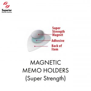 customized MAGNETIC MEMO HOLDERS (Super Strength)