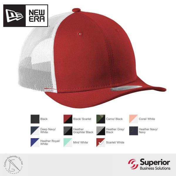 NE207 New Era Custom Embroidery Hat