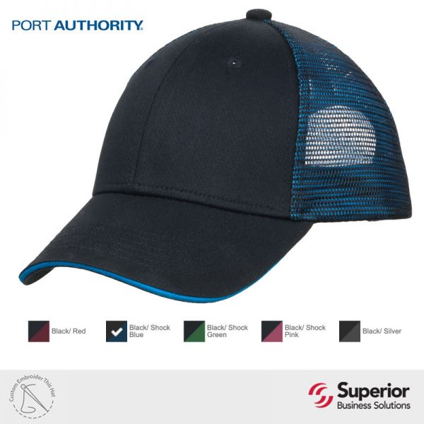 C818 Port Authority Custom Embroidery Hat
