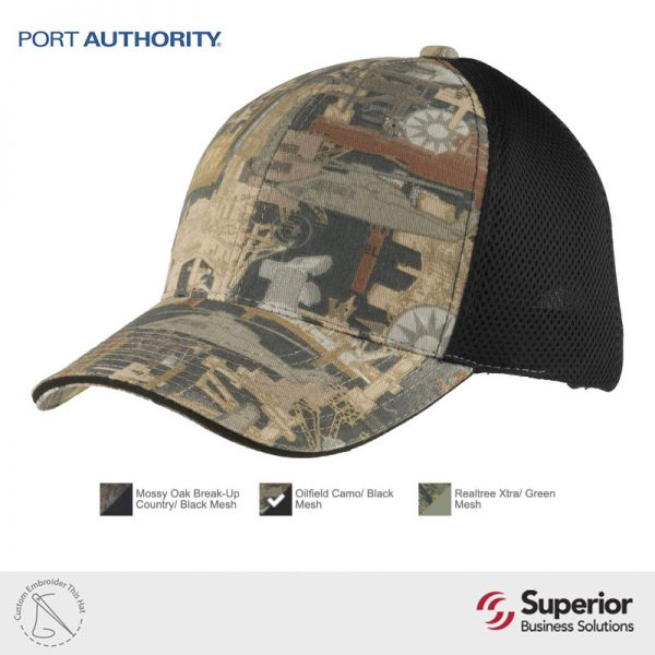 C912 Port Authority Custom Embroidery Hat