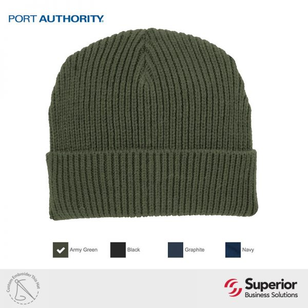 C908 - Port Authority Knitted Cap