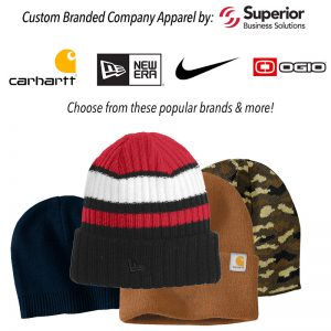 Custom Embroidered Knit Hats from Top Brands