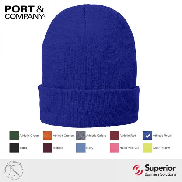 CP90 - Port and Company Fleece Lined Cap