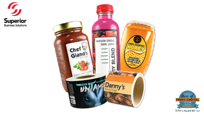 Popular Labels for Food & Beverage Products