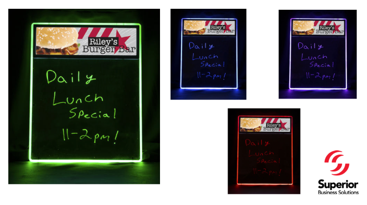 Catch Their EYE with The LiteWriter Sign!