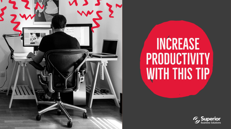 How to Increase Productivity? This Tip Might Surprise You