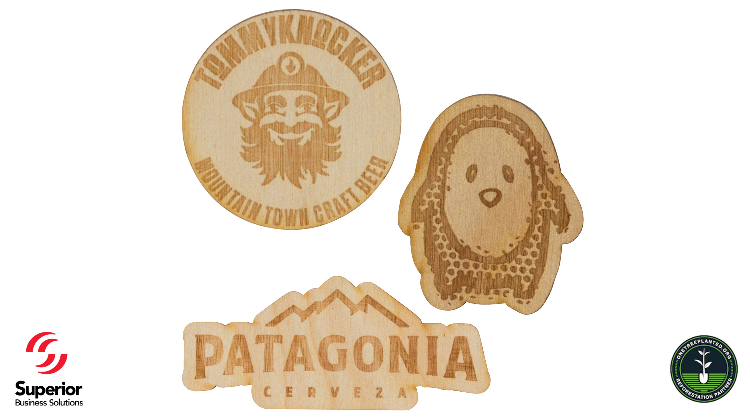 Wooden Stickers…New Promotional Item Trend Alert!