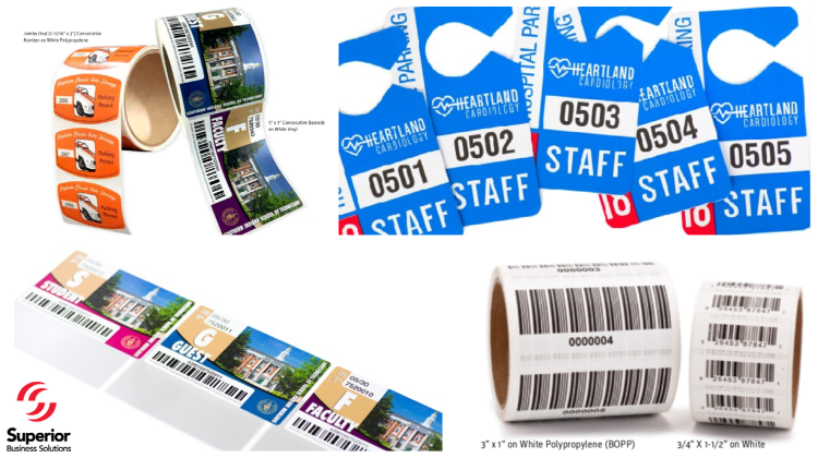 Custom Labels with Consecutive Number & Barcodes You Can Count On